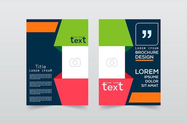 Brochure ontwerpsjabloon