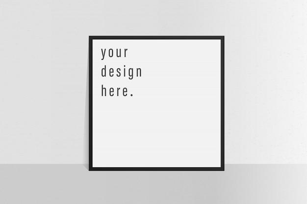 Brochure sjabloon folder eenvoudige witte kleur achtergrond