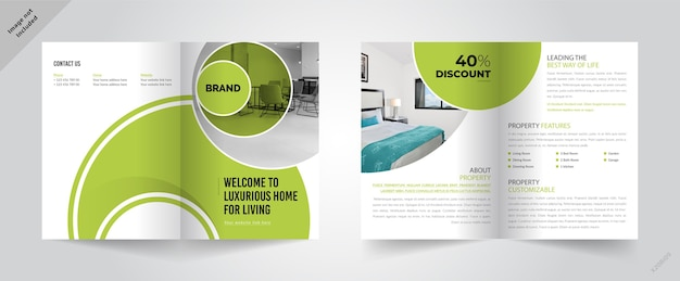 Brochure sjabloon