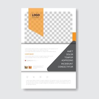 Brochure sjabloonontwerp