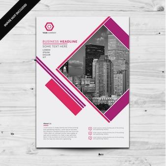 Brochure template ontwerp