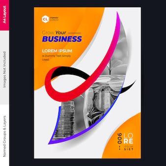 Brochure vector ontwerpsjabloon