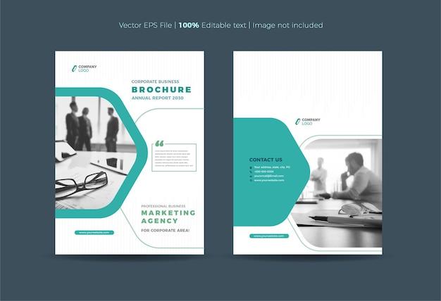Brochureomslagontwerp of jaarverslag en bedrijfsprofielomslag of boekje en catalogusomslag