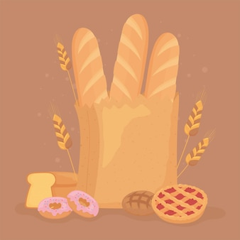 Brood dessert eten