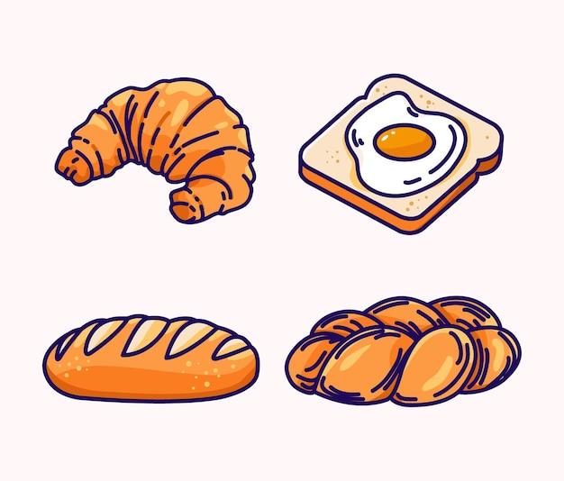 Brood illustratie