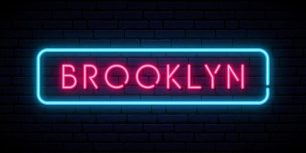 Brooklyn neonreclame