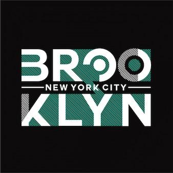 Brooklyn - typografie
