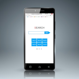 Browser en mobiele apparaten