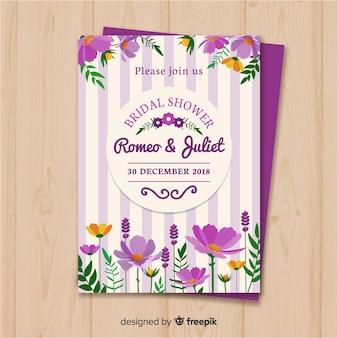 Bruids douche uitnodiging