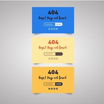 Bruikbaar 404 templates
