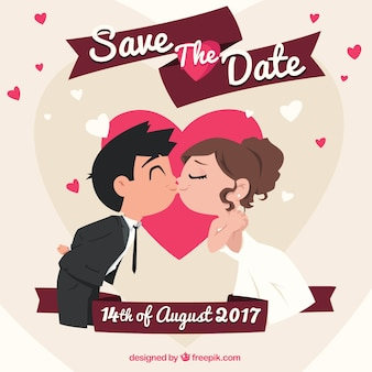 Bruiloft achtergrond ontwerp
