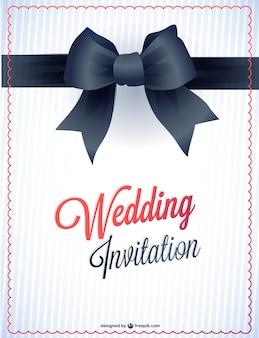 Bruiloft afdrukbare uitnodiging kaart