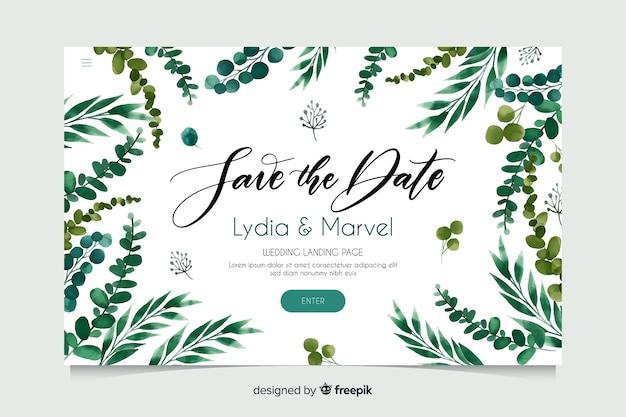 Bruiloft-bestemmingspagina