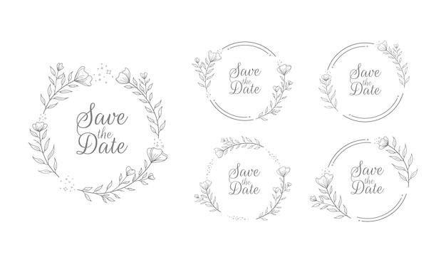 Bruiloft bloemen titel