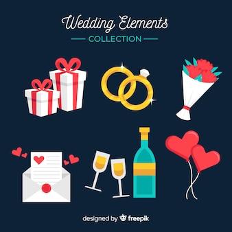 Bruiloft element collectie