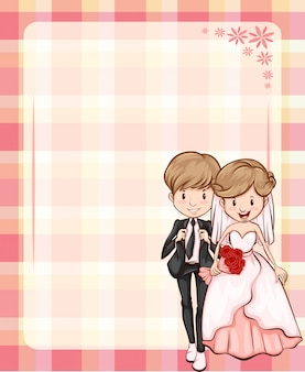 Bruiloft frame