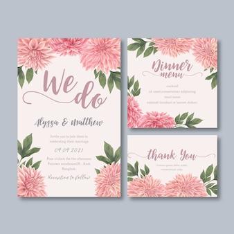 Bruiloft receptie bloemen met pastel leafage