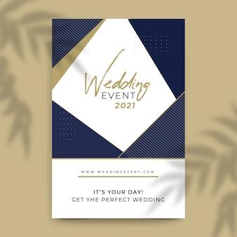Bruiloft uitnodiging achtergrond