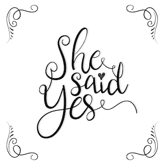 Bruiloft uitnodiging typografie voor uitnodigingskaart