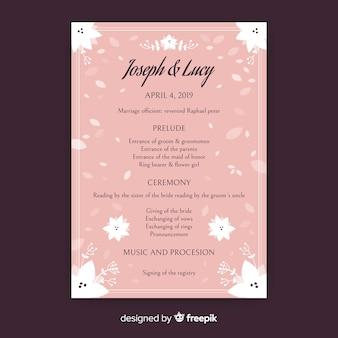 Bruiloftsprogramma