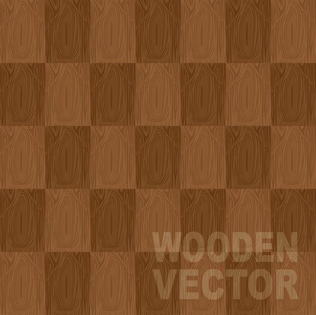 Bruine houten vector achtergrond vectorillustratie
