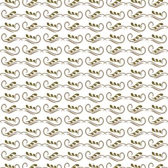 Bruine kleur blad patroon achtergrond