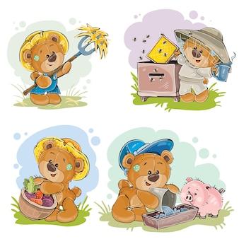 Bruine teddybeerboer, imker