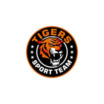 Brullende tijger logo
