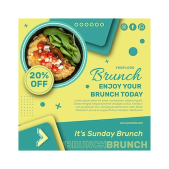 Brunch folder sjabloon