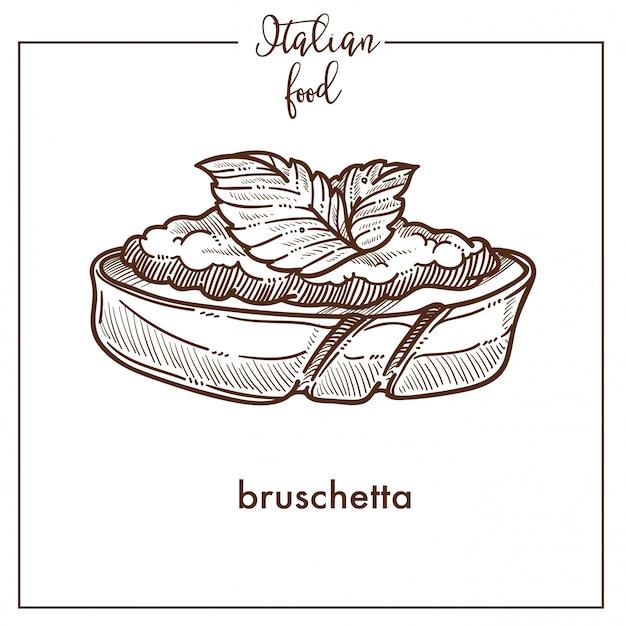 Bruschetta-snack