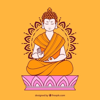 Budha achtergrond