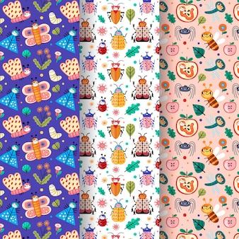 Bug patroon collectie