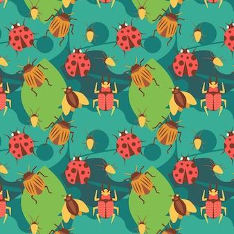 Bug patroon concept