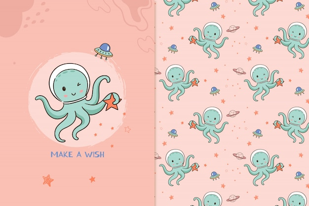 Buitenaards octopuspatroon