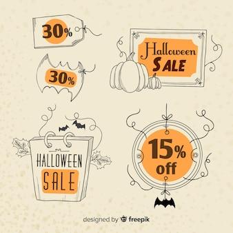 Buitensporige vintage halloween-verkoop