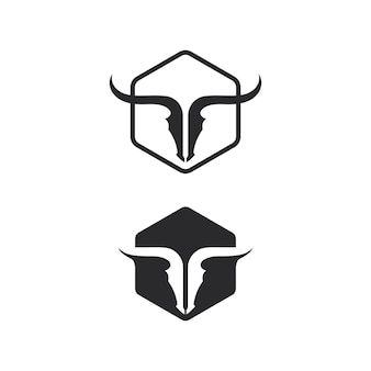 Bull buffalo head, koe, dier mascotte logo ontwerp vector voor sport hoorn buffel, dier, zoogdieren, hoofd logo, wild, matador