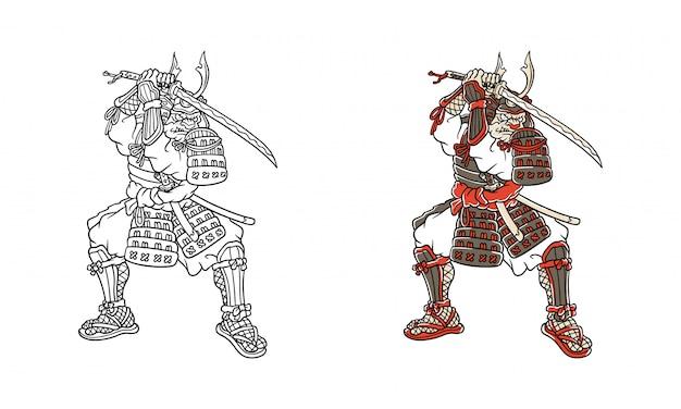 Bull dog samurai
