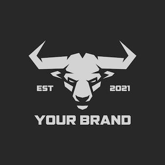 Bull logo-sjablonen