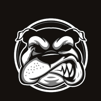 Bulldog hoofd