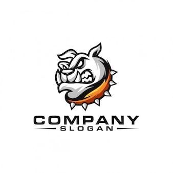 Bulldog logo ontwerp