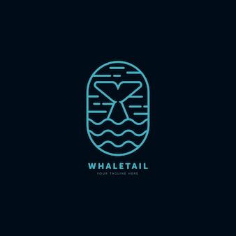 Bultrug minimalistische lijn kunst logo vector illustratie ontwerpsjabloon