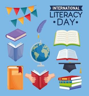 Bundel van alfabetiseringsdagviering