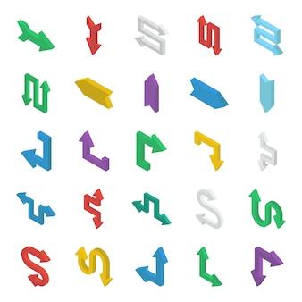 Bundel van pijlen isometrisch