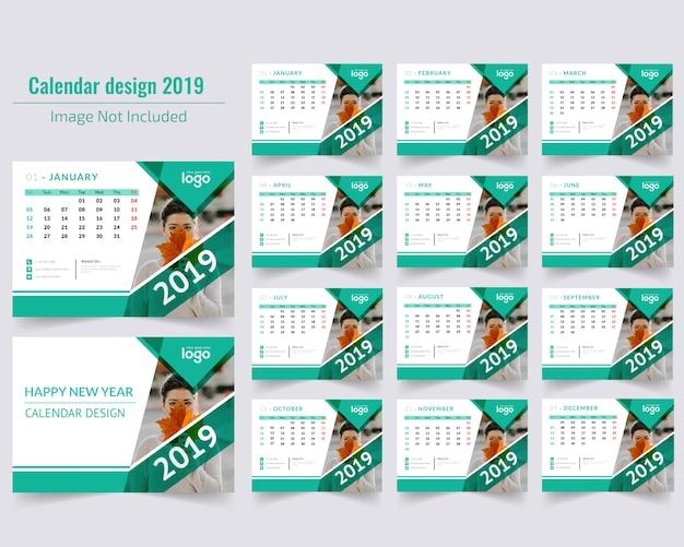 Bureaukalender 2019