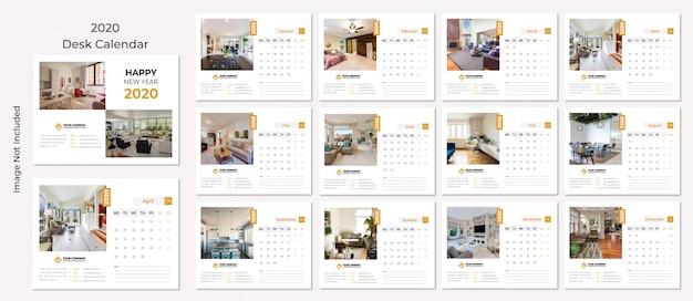 Bureaukalender 2020