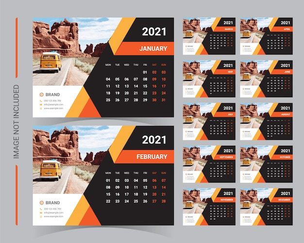 Bureaukalender 2021