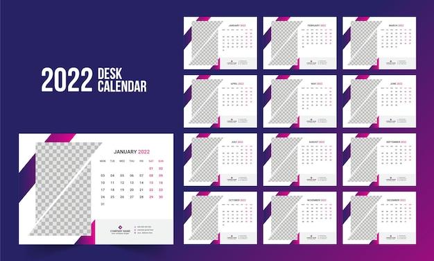 Bureaukalender 2022