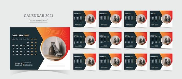 Bureaukalender illustratie