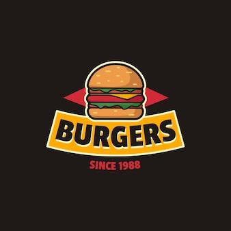 Burger vintage-logo