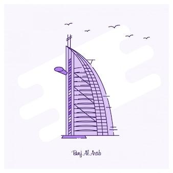 Burj al arab-oriëntatiepunt